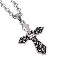 agent network - Factory The new European retro fashion Cross Pendant personalized jewelry selling speed bribe Dunhuang network agent Val