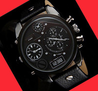 china watches - HOT Sell men s luxury Watches New DZ Wristwatches relojes sport Military Quartz Watch leather strap Waterproof homme China