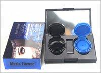 Wholesale Music Flower New Brand Colors Eyeliner Gel Cream Waterproof Fast Dry Eye liner Eyeliner Cream Palette Makeup With Mirror