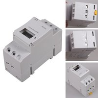 Wholesale LCD Digital Display DC V A Hour Day Timer Time Relay Switch MTY3
