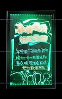 Wholesale New arrival led advertisement board cm DIY flash LED writing promotion board High Quality Acrylic