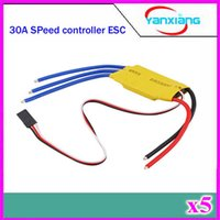Wholesale 5pcs Simonk firmware A Brushless Motor Speed Controller RC BEC ESC T rex V2 Helicopter Boat ZY DJI A