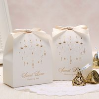 candy packaging supplies - Wedding Supplies wedding favor boxes married candy box candy bags creative packaging customization Korean European candy box SKU A382