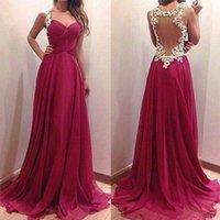 belt wine red - Wine Red Patchwork Grenadine Ruffle Lace Condole Belt Dress Sweetheart Neckline Sheer Back A Line Silk Chiffon Prom Dresses Gown Evening