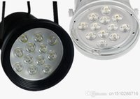 Wholesale 3w w w w LED track light for store shopping mall lighting lampColor optional White black Spot light