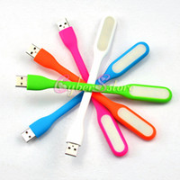 Wholesale USB LED Lamp Light Portable Flexible Bendable Mini USB Light for Notebook Laptop Tablet Power Bank USB Gadets