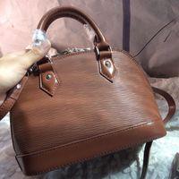 Wholesale Original High Quality Brand Designer Ripple Genuine leather tote bags Ladies Famous handbags shoulder purse Shell Bag