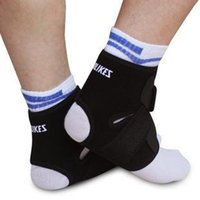Wholesale L Tightness Black Ankle Protector Sports Ankle Support Elastic Ankle Brace Guard Foot Support Sports Gear Gym