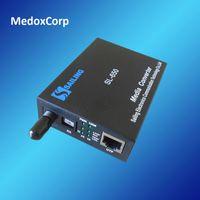 Wholesale Ethernet via Fiber Transmitter and Receiver M to M Ethernet Media Converter Double Wavelength nm km SM SX