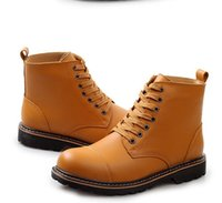 work boots - 2014 autumn and winter leather male the trend of the Martin boots high boots outdoor leisure fashion men work boots