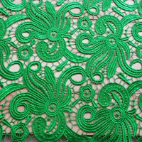 Wholesale Water Soluble D Lace Venice Arabic High Quality Multiple Colors Fabric for Dresses Gowns Skirt Table Cloth