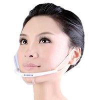 Wholesale Reusable transparent face mask for catering services using like restaurant and pub OEM service andhigh quality