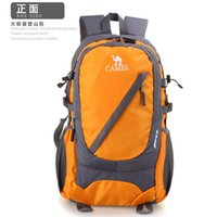 Wholesale 2015 new sports outdoor travel backpack large capacity hiking camping backpack laptop bag waterproof nylon material