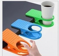 clamp - Table Glass Water Cups Clip Drinklip Cup Holder Glass Holder Mug Office Tumblerful Glass Clamp Drink Klip Cups Keeper D5589