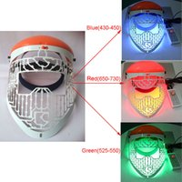Wholesale face care LED Facial Mask Skin acne Led Photon Face Mask Personal PDT Photo Dynamic colors LED