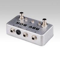 ab switch pedal - NEW ABY Selector Combiner Switch AB Box New Pedal Footswitch BRAND NEW CONDITION