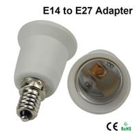 Wholesale LED Bulb Base Adapter Socket Converter Socket E14 to E12 E26 to E14 E26 to E27 E26 to B22 B22 to E26 Converter for LED Halogen CFL Light