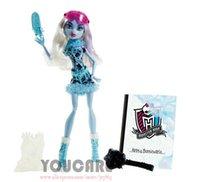 best comic art - Monster High Art Class Abbey Bominable Doll Best gift for girl new monster Hight doll toys