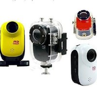 Wholesale Waterproof Sport Camera HD P M DV Car Dive Bike Helmet Recorder Inch LCD SJ1000 Many Colors