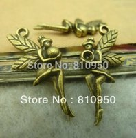 antique jewellry - MM Metal Alloy Antique Bronze Angel Vintage Charms Jewelry Fit Diy Fashion Jewellry Pendant