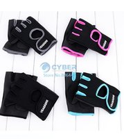 Wholesale veasaers Gym Body Building Training Fitness Gloves Sports Weight Lifting Exercise Slip Resistant Gloves For Men And Women