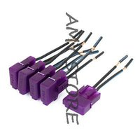 atc audio - Auto Vehicle Audio Inline ATC Blade Fuse Holder Purple DC V