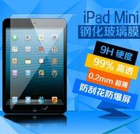 Wholesale 20pcs iPad tempered glass screen ipad mini screen protectors tempered glass ipad air Screen Protector Film Explosion Proof Screen Guard