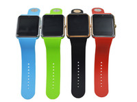 Wholesale Top Quality Android iPhone iwatch A8 GT08 Smart SIM Intelligent mobile phone watch can be time record the sleep state GT08 Smartwatch