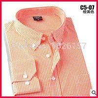 best dress shirts for men - Best Selling New Men Long Sleeve Shirt Plaid Shirt Mens Dress Shirts Camisa Feminina Longa Tuxedos For Men Colors Optional