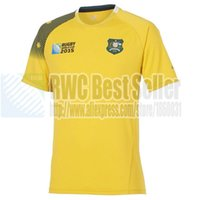 Wholesale Top thailand quality Australia Rugby Jersey RWC Best Quality home yellow Rugby Shirt World Cup Australia home from S XX