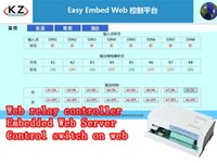 Wholesale Web control switch cellphone control relay Ethernet control switch web control LED