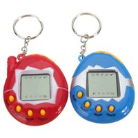 battery operated animal toys - New Arrival Pink Blue Retro Virtual Pet In Cyber Pets Animals Toy Funny Kids Gift New