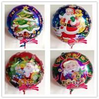 Wholesale 2014 Christmas balloon helium balloons Christmas party balloon decoration supplies