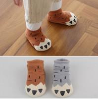 baby socks dog - baby girl socks Cute Cartoon Cotton Sports Socks New Fox Dog baby new born girl socks Winter Warm Children Socks XW026