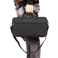 Wholesale 3pcs hot product Black Portable Lightweight Clarinet Cloth Box with Shoulder Strap Carry Handle MIA_639