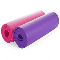 Wholesale High quality Yoga Mats cm elastic waterproof mat non slip exercise mat for yoga cheap yoga mat fitness