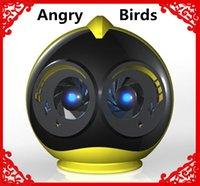 audio bird sounds - Super Cute Cartoon Q616 Angry Bird Bluetooth Speaker Portable Wireless Mini Audio Player Handsfree MIC Hifi Stereo Loudspeaker