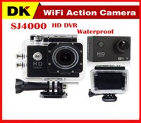 Wholesale Top Quality Cheap SJ4000 WIFI Inch LCD Action Camera Diving Full HD P M Waterproof Sport Camera mini DV Car DVR