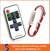 wireless rf remote control - rgb led lamps remote control led christmas light controller key led single color dimmer wireless rf remote control led strip