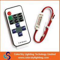 rf light wireless remote control - rgb led lamps remote control led christmas light controller key led single color dimmer wireless rf remote control led strip