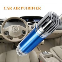 Wholesale Auto air purifier oxygen bar Ionizer Car interior decoration Minus ion Oxygen Bar Remove smoke and Clean air