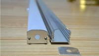 ac channel - led aluminium profile for led bar light led strip aluminum channel waterproof aluminum housing Sunny Wood YD