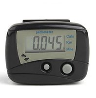 pocket pc - 20 Outdoor Pocket LCD Pedometer Multifunction Double bond mini Running Step Counter LCD Run Step Pedometer Digital Walking