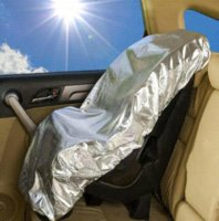 baby car shades - Car Baby Seat Sun Shade Cover Protector Car Seat Mommy s Helper Car Seat Cover M10209 seat wedding