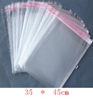 Wholesale Promotion Clear Self Adhesive Seal Plastic Packaging Bags OPP Bags x cm Fit Jewelry Gift Clothing