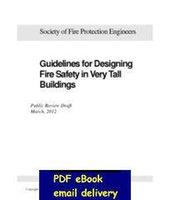 Al por mayor-Sociedad de Ingenieros de Protección contra incendios Directrices para el diseño de seguridad contra incendios en edificios muy altos