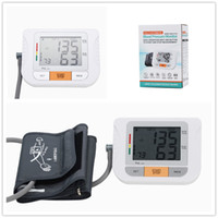 Wholesale Automatic Upper Arm Digital Blood Pressure and Pulse Monitor Sphygmomanometer Portable Blood Pressure Monitor Groups Memorry