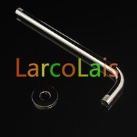 Wholesale Contemporary Wall in Brass Top Spray Shower Arm for Head Shower Supporting Rod Chrome Finish