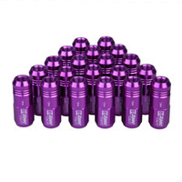 Wholesale Hight Quality D1 Spec Purple JDM Wheel Lug Nuts M12 x mm for Honda Civic Integra fb