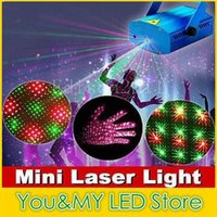 Wholesale Mini in in in Moving Party Stage Laser Light Projector with tripod laser DJ party disco light